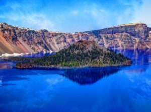 crater-lake-mount-mazama-mountains-45776