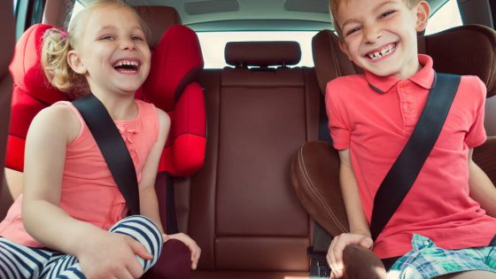 When to Switch to a Front Facing Car Seat