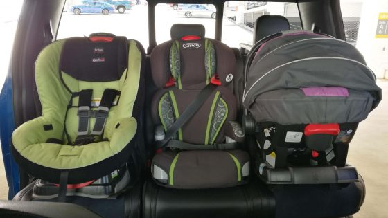 How to Fit Car Seats Three In A Row