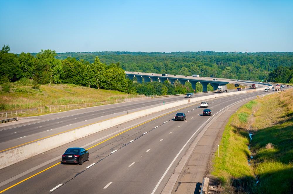 Ohio Interstate 80 Road