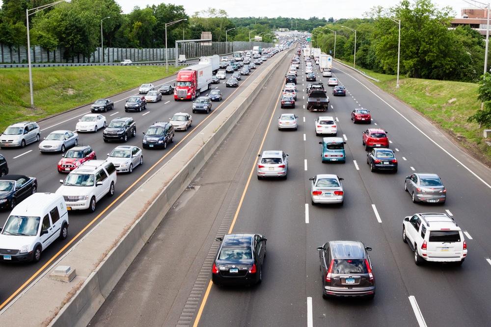 Interstate Highway in Stamford Connecticut