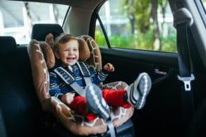 Toddler in a Car Seat